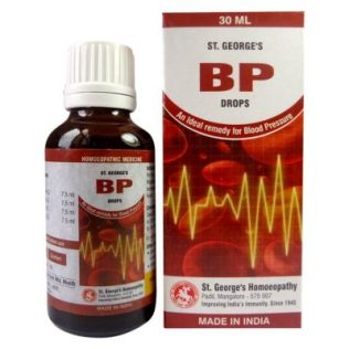 St George BP Drops - An Ideal Remedy for Blood Pressure