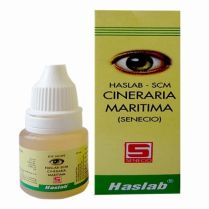 Haslab Cineraria Maritima senecio drops for conjunctivitis, cataract, weak eye sight