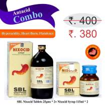 Natural Antacid medicine for Acidity and Indigestion- Tablets & Syrup