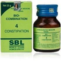 SBL Bio-Combination No 4 Tablets for Constipation