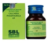 SBL Biochemic Tablets Calcarea Phosphoricum 3x, 6x, 12x, 30x, 200x. for strong bones, teeth