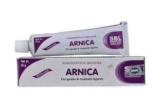 SBL Pomade Arnica Ointment for Sprains, Muscular Pains
