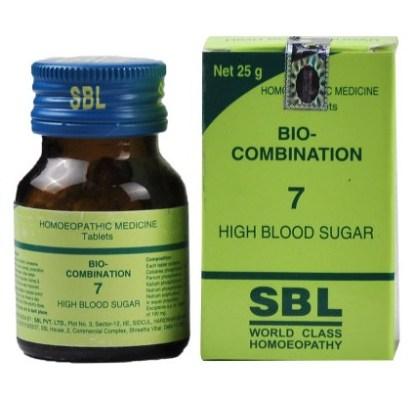SBL Bio combination No.7 Tablets for High Blood Sugar