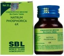 SBL Biochemics Tablets Natrum Phosphoricum 3x, 6x, 12x, 30x, 200x