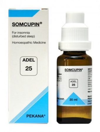 Adel 25-SOMCUPIN for insomnia or disturbed sleep. homeopathic medicine for somnabulistic disorders