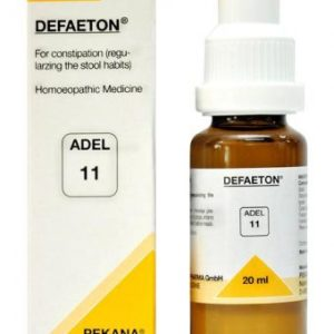 ADEL11 Defaeton homeopathic drops for constipation, laxative, for proper excretion of stools