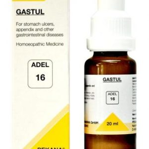ADEL 16 Gastul drops homeopathic medicine for stomach ulcers, appendix, gastro-intestinal diseases