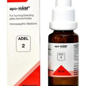 ADEL 2 apo-Ham homeopathic drops for piles (hemorrhoids), homeopathic medicine for piles
