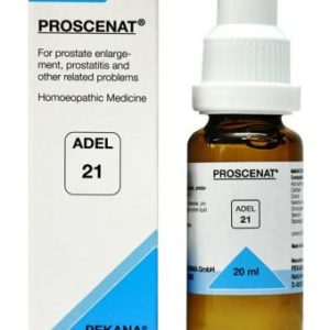 ADEL 21 Proscenat homeopathic medicine for prostate enlargement, prostatitis
