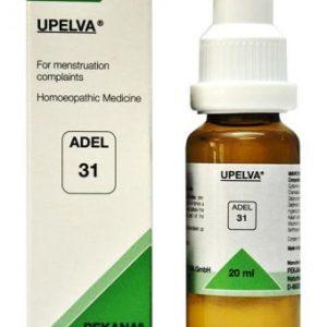 ADEL 31 UPELVA homeopathic drops for menstruation problems, dysmenorrhoea, leucorrhoea