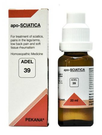 ADEL 39 apo-SCIATICA homeopathic medicine for treating sciatica, rheumatism