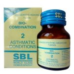 SBL Biocombination 2 (BC2) Tablets for Asthmatic Conditions, Bronchial asthma