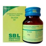 SBL Biochemic tablet Silicea for hair, nails, bone health