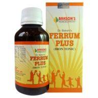 Baksons Ferrum Plus Iron Tonic for Anemia, iron deficiency anemia treatment, iron blood tonic in india