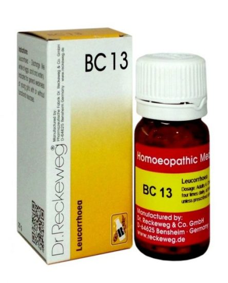 Dr Reckeweg Biocombination Tablets BC13 for Leucrorrhoea