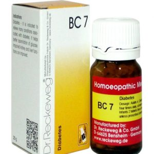 Dr Reckeweg Biocombination Tablets BC7 for Diabetes