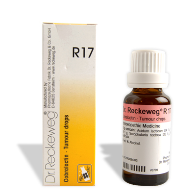 Dr. Reckeweg R17 tumour drops for neoplasm, cancerous growths, Scales, Warts, maligant and benign Tumors,