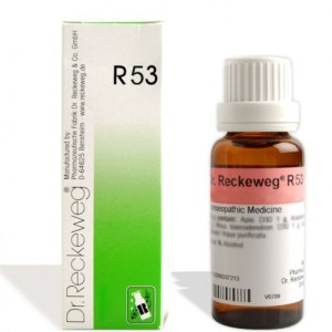 Dr.Reckeweg R53 homeopathy medicine Acne vulgaris (pimples). rash at puberty, comedones, pustules, dermatitis, skin rashes