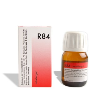 Dr.Reckeweg R84 Inhalent Allergy drops, medicine for breathing difficulty from pollen, house dust, moulds and mites