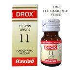 Drox-11 Fluron Drops for Flu, Catarrhal Fever