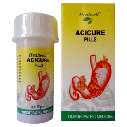 Healwell Acicure Pills for Gastric Ailments and Indigestion
