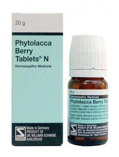Schwabe German Phytolacca Berry Tablets Buy Online Get Offers