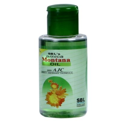 SBL Arnica Montana Hair Oil with Thuja, Jaborandi, Calendula for hairfall, dandruff