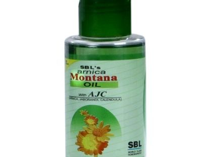 SBL Arnica Montana Hair Oil with Thuja, Jaborandi, Calendula for hairfall, dandruff