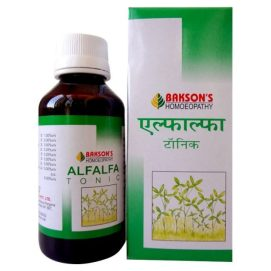 Bakson Alfalfa tonic, body building tonic, for appetite , digestion and wholesome nutrition