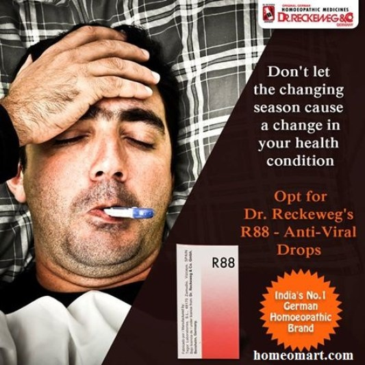 Reckeweg R88 anti viral homeopathic medicine for cold and flu