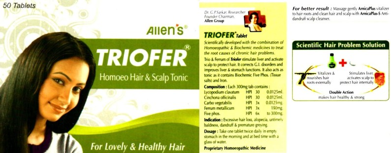 Allen's Arnica Plus with triofer tab