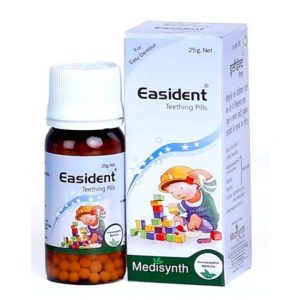 Medisynth Easident Teething Pills for Easy Dentition in Infants