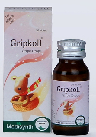 Medisynth Gripkoll Homeopathy Gripe water for new borns