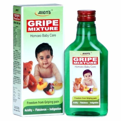 Allen Gripe Mixture Syrup - Freedom from Griping Pain