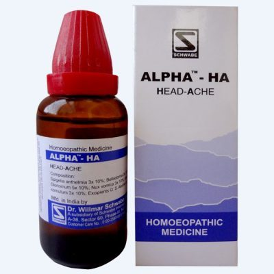 The complete product list of Dr Schwabe Homeopathic