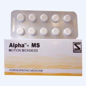 Schwabe Alpha MS Tablets for Motion Sickness