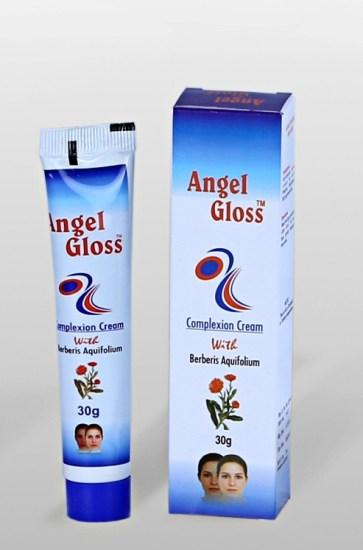 Angel Gloss Complexion Cream with Berberis Aquifolium-Bio Valley, Homeopathic fairness cream
