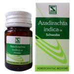 Schwabe Azadirachta 1X Tablet - Homeopathy Detox medicine, blood purifier, astringent, anti cancer properties