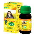 Blooume 27 POLLINOSAN drops, homeopathic medicine for allergic Rhinitis, Hay fever