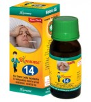 Buy Blooume 14 FEVER CARE drops, homeopathy medicine for low grade fever from flu
