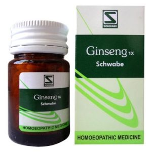 Schwabe Ginseng 1X Tablets for Stress