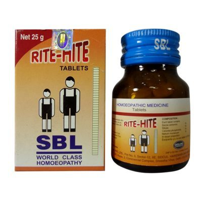 SBL Rite Hite Tablets homeopathic medicine for height increase, grow tall