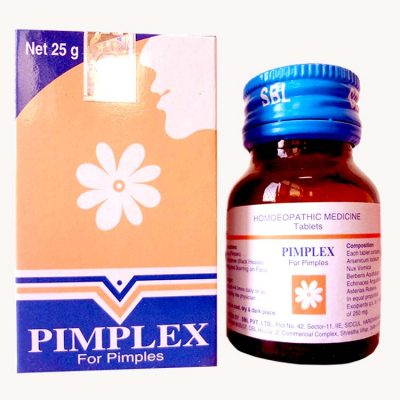 SBL Pimplex Tablets homeopathy medicine for pimples, get rid of acne vulgaris