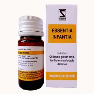 Schwabe Essentia Infantia tablets, Iron nutrition for kids, best children's growth tonic, facilitates dentition