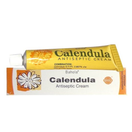 Bahola Calendula HomeopathicAntiseptic Cream, antiseptic cream for wounds, antiseptic cream for cuts and wounds