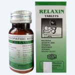BBP Relaxin homeopathy Tablets treats Stress, Tension, associated headache and Sleep Disturbances