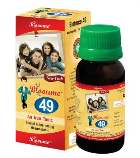 Bioforce Blooume 49 Fe-Tone Iron Tonic for anemia, iron deficiency