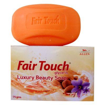 Allen Fair Touch Glycerin Soap with Berberis Aqui, Saffron, Almond