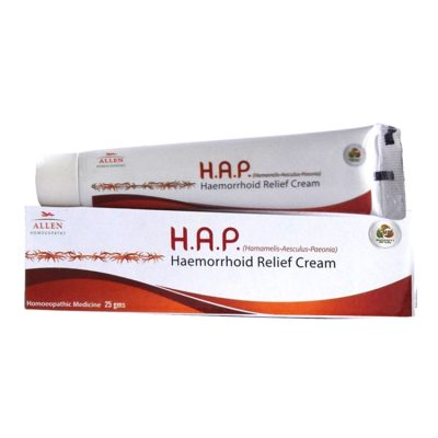 Allen H.A.P. HaemorrhAllen H.A.P. hemorrhoid relief cream-homeopathic medicine for piles, oid Relief Cream