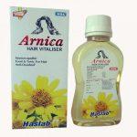 Haslab Arnica Hair Vitaliser with Jaborandi, bhringraj, cantharis, hydrocotyle asiatica. Anti dandruff oil